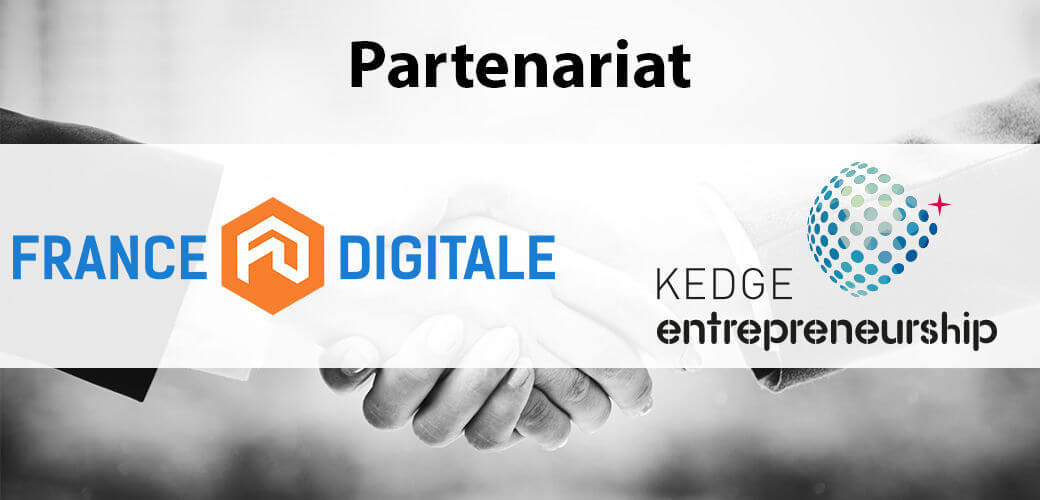 KEDGE Entrepreneurship signe un partenariat avec France Digitale - KEDGE