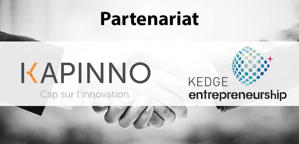 KEDGE Entrepreneurship signe un partenariat avec Kapinno - KEDGE